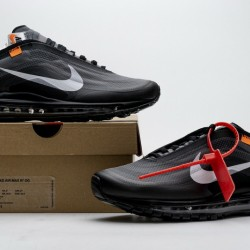 """Off-White x Nike Air Max 97 """"Black"""" All Black AJ4585-001"""