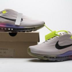 """Off-White x Nike Air Max 97 """"Queen"""" Pink Purple AJ4585-600"""